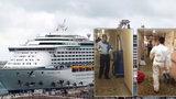 Vánoční hororová plavba: Přes 300 pasažérů se na palubě luxusní lodi nakazilo nebezpečným virem