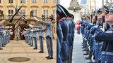 Práce u Hradní stráže: Vojáci musí mít perfektní pleť, potřebnou výšku a vzhled