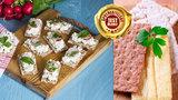 Test »křehkých« chlebíčků: Čím lehčí, tím prázdnější