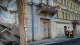 V hotelu v Mariánských Lázních se propadl strop: V troskách pátrají po lidech