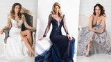 Vítová, Arichteva i Bezděková v luxusních róbách: Vytasily sexy nožky i nadupané dekolty!