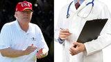 Trump je fit, tvrdí lékař. O erekci ho může ale připravit lék na vlasy