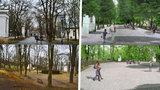 Ostudný park u rozhledny na Petříně: Po letech začíná oprava za 20 milionů