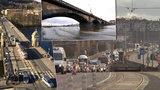 Budou po Libeňském mostě zavřeny další mosty?  Most Legií, Hlávkův či Palackého!  Ty jsou na tom nejhůř...