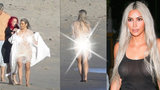 Kim Kardashian se před pár dny stala matkou a už se fotí úplně nahá!