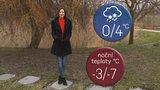 Počasí s Honsovou: Víkend proprší. V noci pak namrznou chodníky i silnice