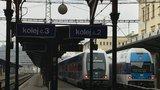 Z Masarykova nádraží nejezdí kvůli poruše vlaky. Provoz bude obnoven ve dvě hodiny