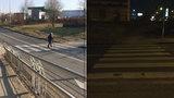 Nebezpečný přechod na Barrandově: Chodci nejsou vidět, auta spěchají kvůli semaforu