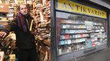 Obří knižní loupež: Slavný antikvář z Holešovic (60) přišel o 11 tisíc knih