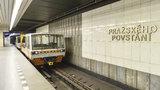 """Čtyři dny omezení na """"céčku"""": O Velikonocích nepojede metro mezi Kačerovem a Pražského povstání"""