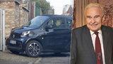 Nejkrásnější dárek pro Munzara: V den 85. narozenin mu vrátili řidičák!