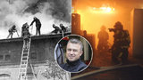 """165 let hasičů v Praze: """"Odhodlání máme stejné jako naši předchůdci z 19. století,"""" říká ředitel"""