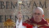 """""""Starší generace vás nesmí umlčet."""" Papež zahájil svatý týden, podpořil omezení zbraní"""