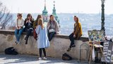 Jako na houpačce: Počasí se v Praze pokazí, ve druhé půlce týdne se vrátí jaro