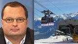 Miliardář Vítek šokoval Švýcary. V lyžařském centru zastavil vleky, aby získal dotace