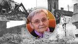 """Hrůzné detaily z bombardování Kralup: """"Mrtvé sváželi do kostela, byla tma jako o půlnoci,"""" popisuje Jiřina (85)"""