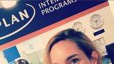 Hana Vagnerová začala studovat v Americe: Nerozumím jim, koukají na mě dost divně