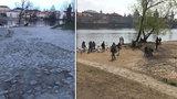 Nevzhledná malostranská náplavka s bezdomovci a výmoly: Praha 1 ji chce změnit