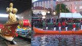 Prahu navštíví válečné gondoly z Benátek. Poprvé v historii opustí italské město