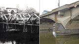Provizorní most mezi Libní a Holešovicemi uměli už před 116 lety. Zprovoznili ho za 11 měsíců