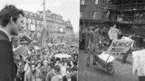 50 let od pražského jara: Lidé mysleli, že změny jsou tu natrvalo, říká historik. V ulicích to žilo