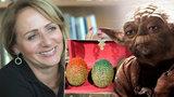 Krnáčová má v práci Yodu i dračí vejce. A podpořila setkání fanoušků za miliony