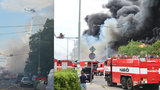 Oxid uhelnatý a chlorovodík! Co škodlivého se při požáru v Hostivaři dostalo do vzduchu?