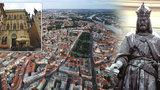 """Karel IV. slaví 702. narozeniny: """"Zanedbané"""" město pozvedl na evropskou metropoli"""