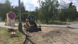 Léto dopravních komplikací: V Benicích rekonstruují dvě důležité ulice