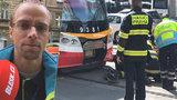 Byl první u tragické nehody na I. P. Pavlova: Poranění neměli šanci, říká Jiří Břečka (36)