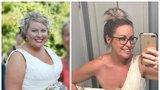 'Z obézní nevěsty o 42 kilogramů lehčí kráskou! Co pro to musela udělat?'