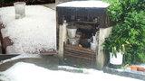 Vyprahlé Holušice na Strakonicku »zbily« kroupy: Konec světa, říkají lidé