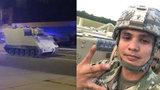 Zfetovaný voják ukradl obrněný transportér: Policisté ho naháněli 2 hodiny!