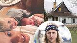 Manželka Tomáše Kluse Tamara: Všech pět nás bydlí v jedné světnici