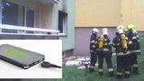 Děsivé probuzení v Brně: Dítěti hořela matrace pod hlavou, na polštáři si nechalo powerbanku!
