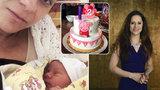 Rozvádějící se moderátorka Něrgešová: Dvouletá dcera je neuvěřitelně chytrá