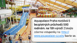 Akvapark v Čestlicích terčem podvodníků! Nabízejí vstupy zdarma, mámí z lidí čísla platebních karet