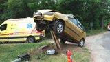 Ani záchranáři nevěřili svým očím: Opilá šoférka zaparkovala na sloupu!