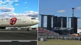 """Rolling Stones už se """"dovalili"""" do Prahy! Boeing s vyplazeným jazykem přistál v neděli na letišti"""