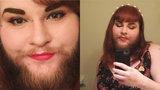 Dříve dívku za její vousy šikanovali. Nyní je hrdě vystavuje!
