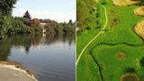 Sucho dál sužuje Prahu: Šáreckému potoku hrozí vyschnutí, lidé nesmí brát vodu ze Šeberáku