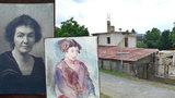 Dům na Zbraslavi vydal 80leté tajemství: Vzácné obrazy malířky zabité v koncentráku