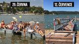 Legrace jako Brno! Před 14 dny na přehradě otevřeli molo za skoro čtyři miliony, nyní je už zavřené!