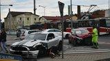 Nehoda v Praze 9 odhalila hříšníka: Muž za volantem měl zákaz řízení