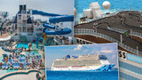 Luxus na vlnách: Výletní loď Norwegian Bliss má i závodní dráhu na střeše!
