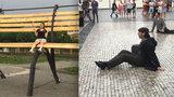VIDEO: Rozruch na Václaváku. V centru Prahy vypukl festival pouličního divadla