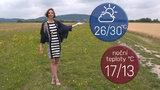 Do Česka se vrací tropy. O víkendu dorazí i bouřky, sledujte radar