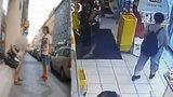 VIDEO: Zběsilý útěk na Andělu: Policisté a ostraha honili ozbrojeného zloděje, ukradl kosmetiku