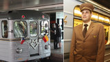 Zelená linka A slaví čtyřicetiny, cestující v den výročí sveze původní sovětská souprava 81-71