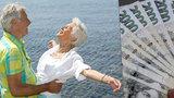 Seniory čeká u důchodů jackpot: Porostou nejvíc za 10 let, hlavně ty nejnižší